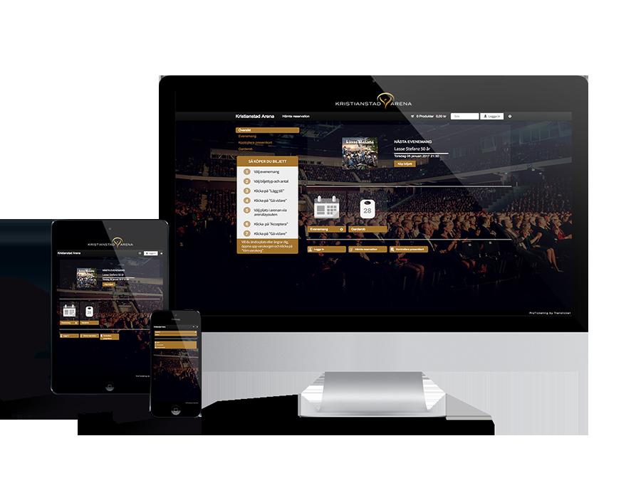 Kristianstad Arena webbshop