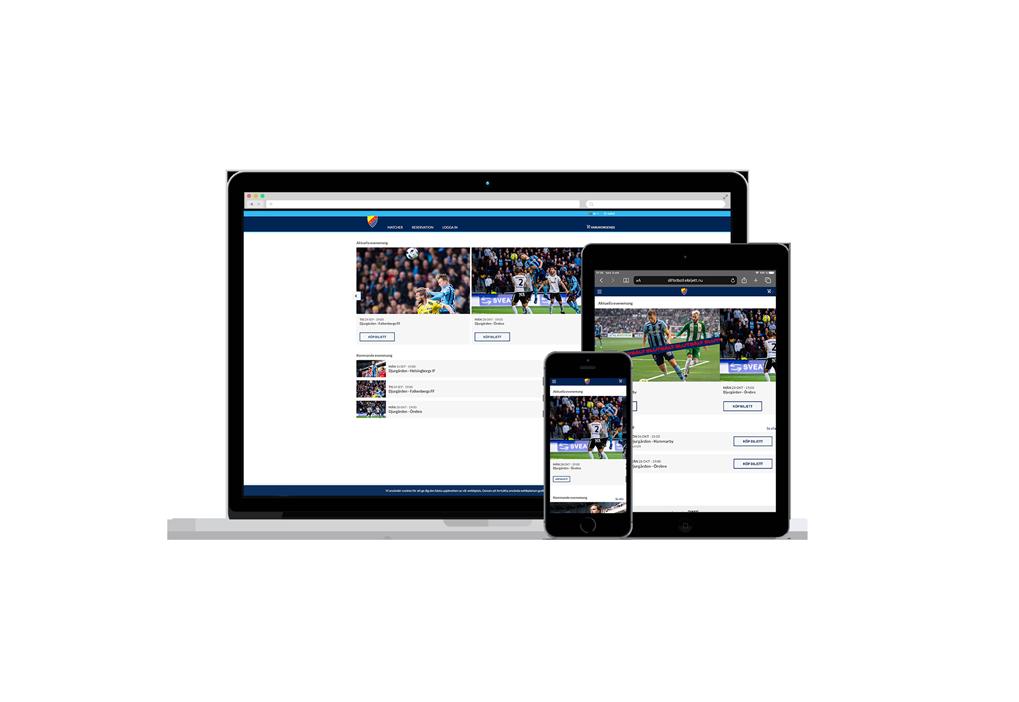 Webbshop DIF Fotboll